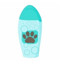 Shampoo for animals icon cartoon style vector