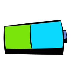 Battery icon icon cartoon vector
