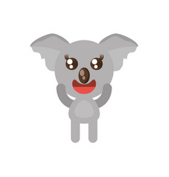 Kawaii koala animal toy vector