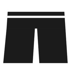 Swimwear shorts icon vector