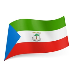 State flag of equatorial guinea vector