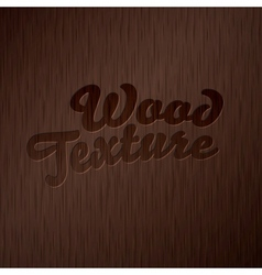 Dark wooden texture vector image