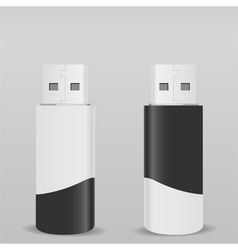 usb flash drives vector image