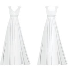 white women elegant dress vector image vector image