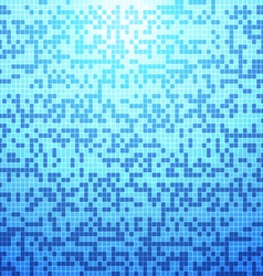 Abstract blue tile background vector image