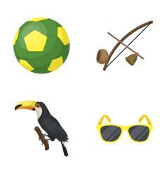 Brazil country ball football brazil country vector