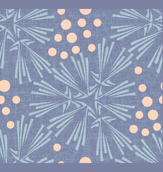 Dandelion polka dot seamless pattern background vector