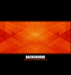 geometric background design vector image