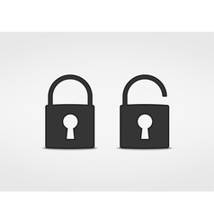 Locks Icons vector image