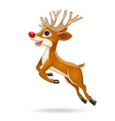 Running little deer vector