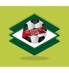 soccer football related icons image vector image vector image