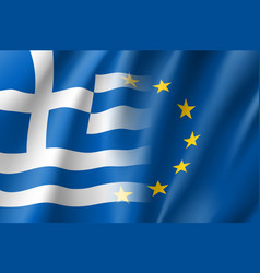 Symbol greece is eu member vector
