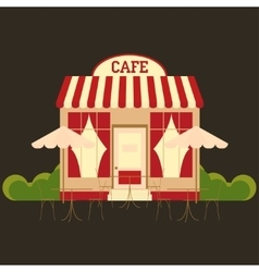 Cafe cafeteria vector image vector image