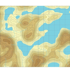 Lakeland map vector
