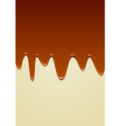 Chocolate melt vector
