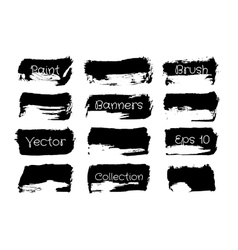 Brush Paint Collection vector image