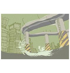 Creative City Highway vector image