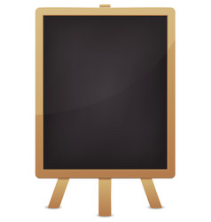 empty blackboard for advertisement vector image