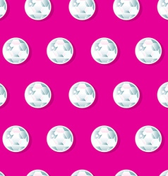 Girls diamond sequins in a seamless pattern vector