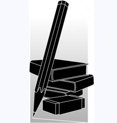 school equipments vector image vector image