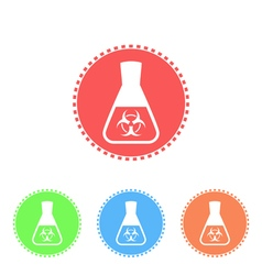 Toxicological research in flask vector