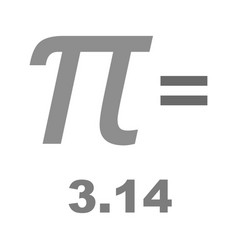 Value of pi vector