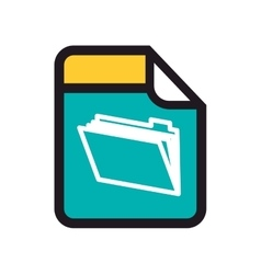 Format file binder vector
