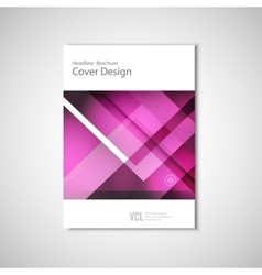 Abstract flyers brochure annual report vector