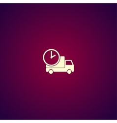 Home delivery web icon design vector