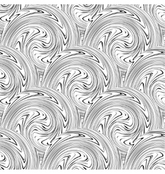 swirl seamless background vector image vector image