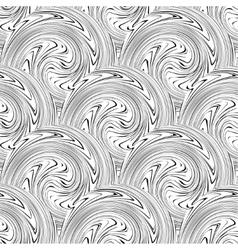 Swirl seamless background vector