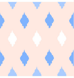 Seamless diamond shapes pattern vector