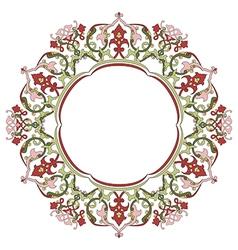 Antique ottoman turkish pattern design thirty five vector