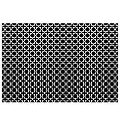 Cross pattern wallpaper vector image vector image