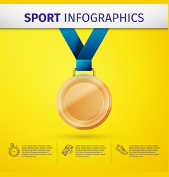 Sport infographics vector
