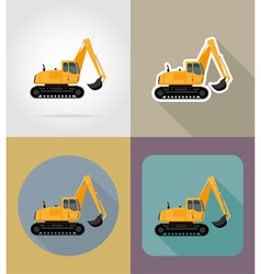 Transport flat icons 25 vector