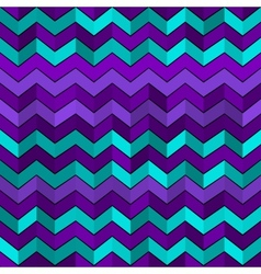 Seamless geometric pattern with zigzags vector image