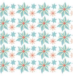 Flower flora decoration seamless pattern vector