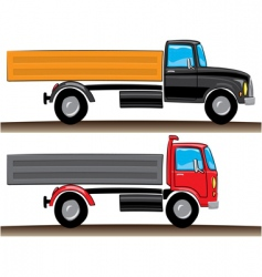 Lorries illustration vector