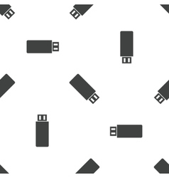 Usb stick pattern vector