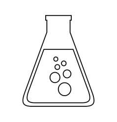 Tube test isolated icon design vector
