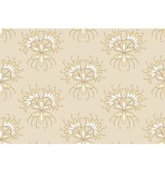 Creamy seamless pattern vector image