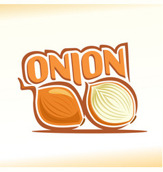 Onion abstract still life vector