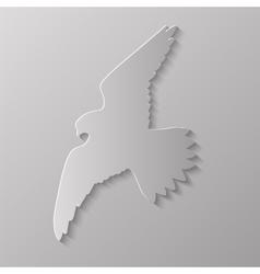 Bird silhouette vector