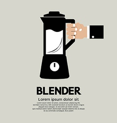 Blender Home Appliance vector image
