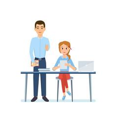 office worker vector image vector image