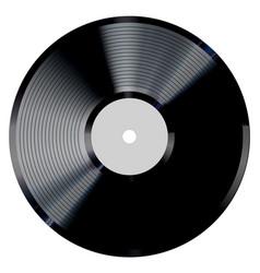 vinyl record photorealistic vector image