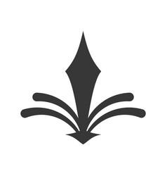 Decorate ornate style icon vector