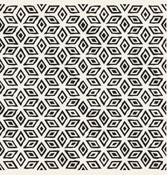 hand drawn line lattice abstract freehand vector image
