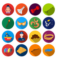 travel industry business and other web icon in vector image